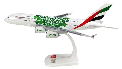 Herpa Snapfit  Emirates Expo 2020 Opportunity livery Airbus A380-800 Scale 1/200 612364