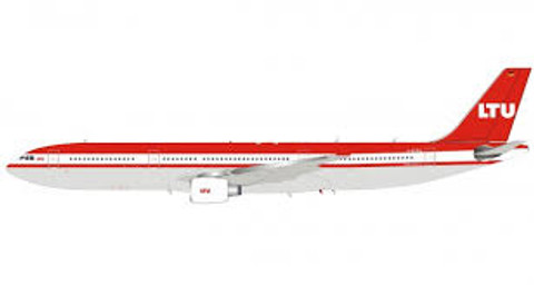 Inflight 200 LTU Airbus A330-300 D-AERQ with stand Scale 1/200 IF333LT0919