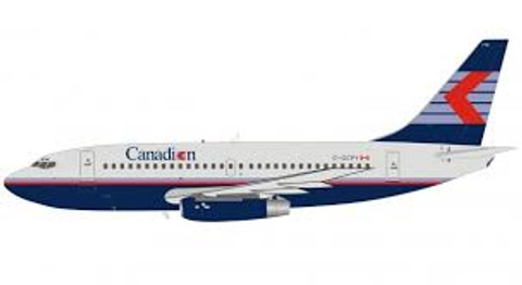 Inflight 200 Canadian Airlines Boeing 737-200 C-GCPY with stand Scale 1/200 IF732CP1019