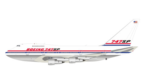 Inflight 200 NASA Boeing 747SP N747SP Polished with stand Scale 1/200 IF747SP0819P