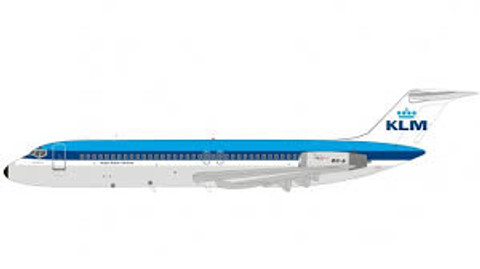 Inflight 200 KLM Douglas DC-9-32 PH-DOB City of Santa Monica with stand Scale 1/200 IF932KL0819