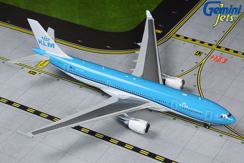 Gemini Jets KLM Royal Dutch Airlines  Airbus A330-200 PH-AOM Scale 1/400 GJKLM1874