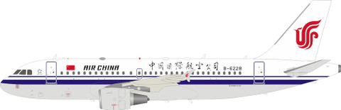 Inflight 200  Air China Airbus A319-115 B-6228 With Stand Scale 1/200 IF319CA001