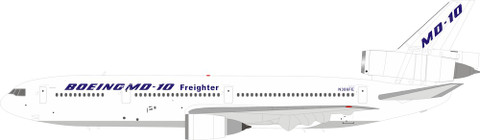 Inflight 200 MD10-10 / DC10-10 Boeing / McDonnell Douglas N386FE With Stand Scale 1/200 IFMD10-01