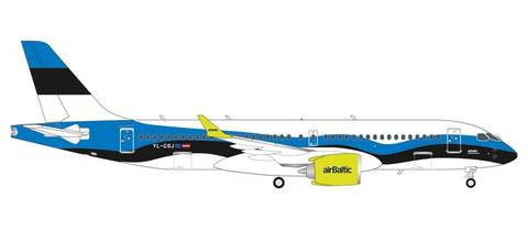 Herpa Wings airBaltic Airbus A220-300 Estonia Scale 1/200 570657
