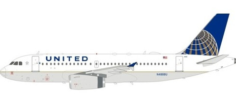 Inflight 200 United Airbus A319-132 N4888U With Stand Scale 1/200 IF319UA1219