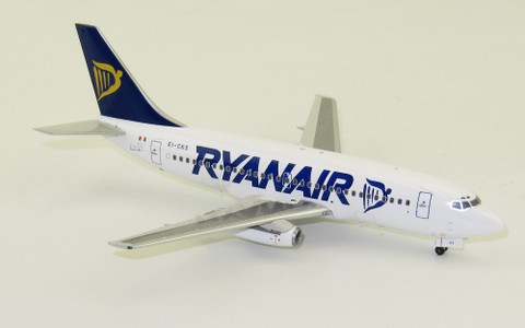Inflight 200 Ryanair Boeing B737-200  EI-CKS With Stand Scale 1/200 WB732RA01