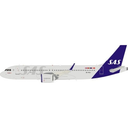 Inflight 200 SAS Airbus A320-200 SE-ROJ with stand Scale 1/200 IF320NSK0120