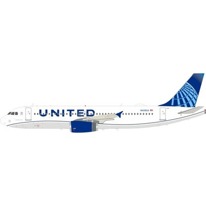 Inflight 200 United Airlines Airbus A320-200 N449UA with stand Scale 1/200 IF320UA0120