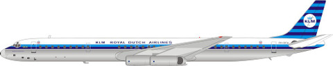 Inflight 200 KLM Royal Dutch Airlines Douglas DC8-63 PH-DEA With Stand Scale 1/200 IF863KL0220P