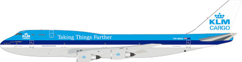 Inflight 200 KLM Royal Dutch Airlines Cargo Boeing 747-100 PH-BUH With Stand Scale 1/200 IF742KLM-100-2