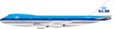 Inflight 200 KLM Royal Dutch Airlines Boeing 747-100 PH-BUH With Stand Scale 1/200 IF742KLM-100-1P