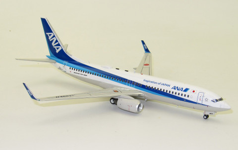 J Fox Models ANA All Nippon Airways Boeing B737-800 JA89AN with stand Scale 1/200 JF7378017