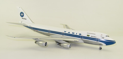 Inflight 200 Varig Polished Boeing 747-200 PP-VNC with stand Scale 1/200 IF742RG0719P