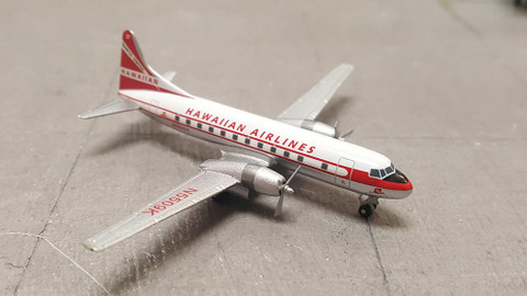 Gemini jets Hawaiian Airlines Convair CV-340 Scale 1/400 GJHAL947