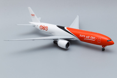 JC Wings TNT Boeing 777 With Stand  Scale 1/200 JC2227