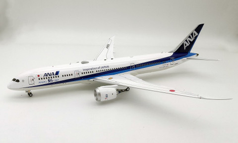 """WB Models ANA All Nippon Airways """"ANA 50th Boeing 787-9 Dreamliner JA882A With Stand Scale 1/200  WB789ANA03"""