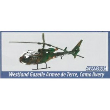 Aviation 72 Westland Gazelle Armee De Terre Camo Scale 1/72 AV7224016