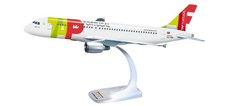 Herpa Snap-fit TAP Air Portugal Airbus A319 Scale 1/100 609913