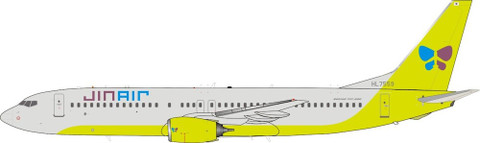 J Fox Models Jin Air  Boeing 737-800 HL7559 With Stand Scale 1/200 JF7378023