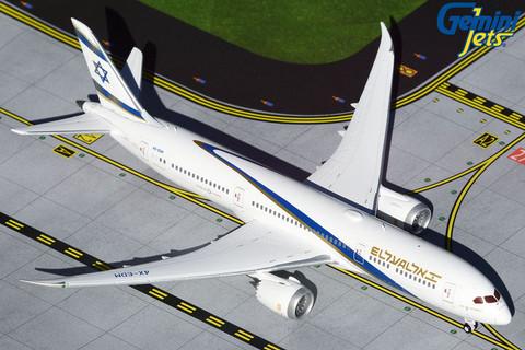Gemini Jets ELAL Boeing 787-9 Scale 1/400 GJELY1904