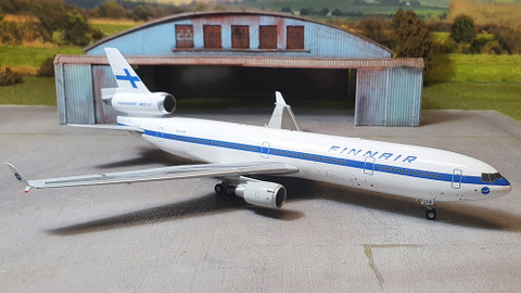 JC Wings Finnair McDonnell Douglas MD11 OH-LGB With Stand Scale 1/200 JC2293