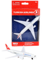 Turkish Airlines toy diecast aircraft Boeing 777 RT5404