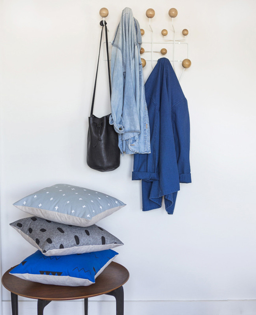 Dusty Blue Plus Pillow