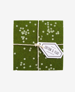 Forest Confetti Coasters