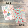 25 Gifts of Love - Blank Journal Sets  - Pairs of Custom Travelers Notebook Inserts - 2 Notebook Inserts per Set