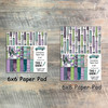 This I Know - Foundation Paper Collection - 24 Double Sided 6x6 or 6x8 Papers
