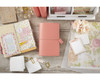 Travelers Notebook - Webster's Pages - Pretty Pink Dori - Journal your thoughts for Bible Journalling!