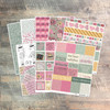 "Digital Paper Collection for ""Our First Love"" Devotional Kit - 8 Sheets of Coordinating Papers"
