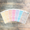 """Throne Room Clear Stickers - 7 Sheets of Clear Stickers, Inspired by """"A Glimpse of Heaven"""" - For the margins of your Bible!"""