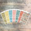 """Proclamation Clear Stickers - 7 Sheets of Clear Stickers, Inspired by """"Famous Last Words"""" - For the margins of your Bible!"""