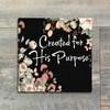 """Created for His Purpose - 34 Double Sided Verse Cards - Coordinates with """"Handcrafted"""""""