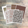 "Digital Paper Collection for ""For the Glory of God"" Devotional Kit - 7 Sheets of Coordinating Papers"