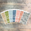 """Acrostic Clear Stickers - 7 Sheets of Clear Stickers, Inspired by """"Psalms, Making it Personal"""" - For the margins of your Bible!"""
