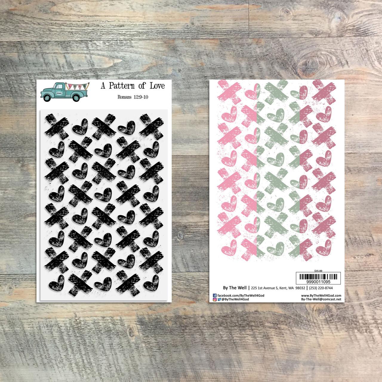 A Pattern of Love - 1 Piece Stamp Set - ByTheWell4God