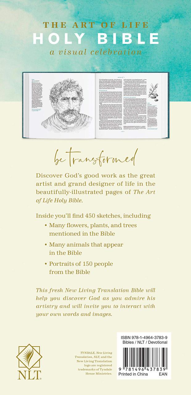 NLT Art of Life Holy Bible: A Visual Celebration