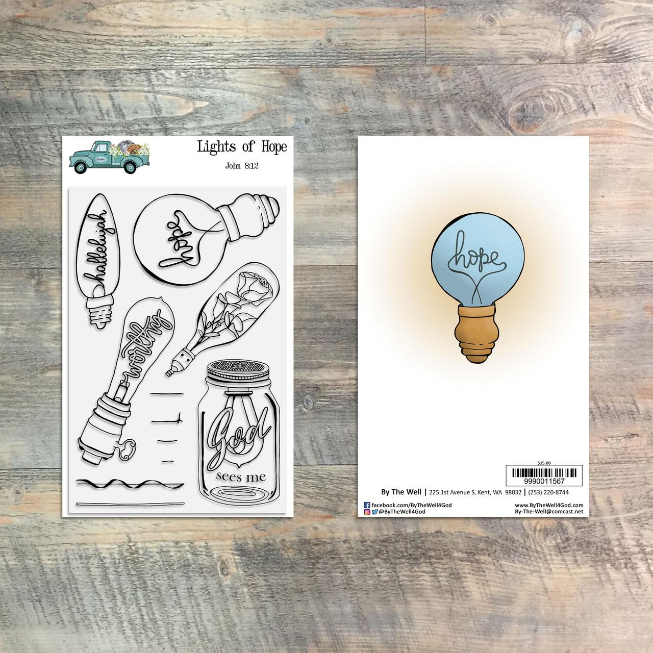 Lights of Hope - 11 Piece Stamp Set - ByTheWell4God