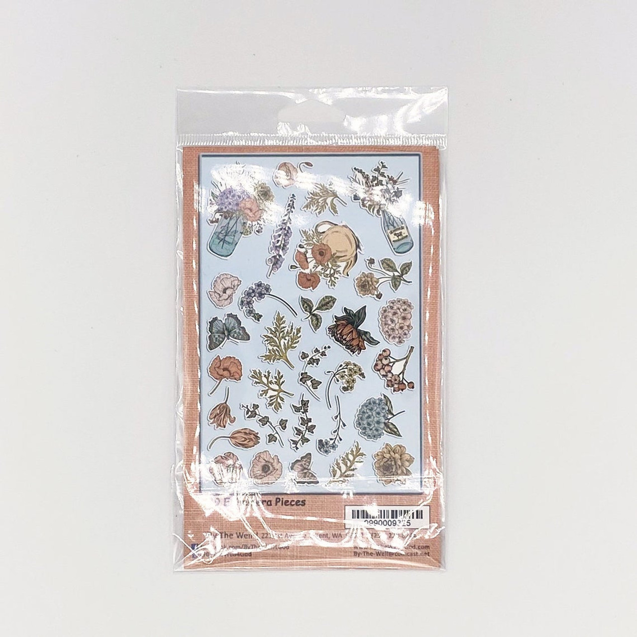 Ephemera Cardstock - Spring Blooms - Die-Cuts 29/Pkg - by ByTheWell4God - Perfect for Bible Journaling!