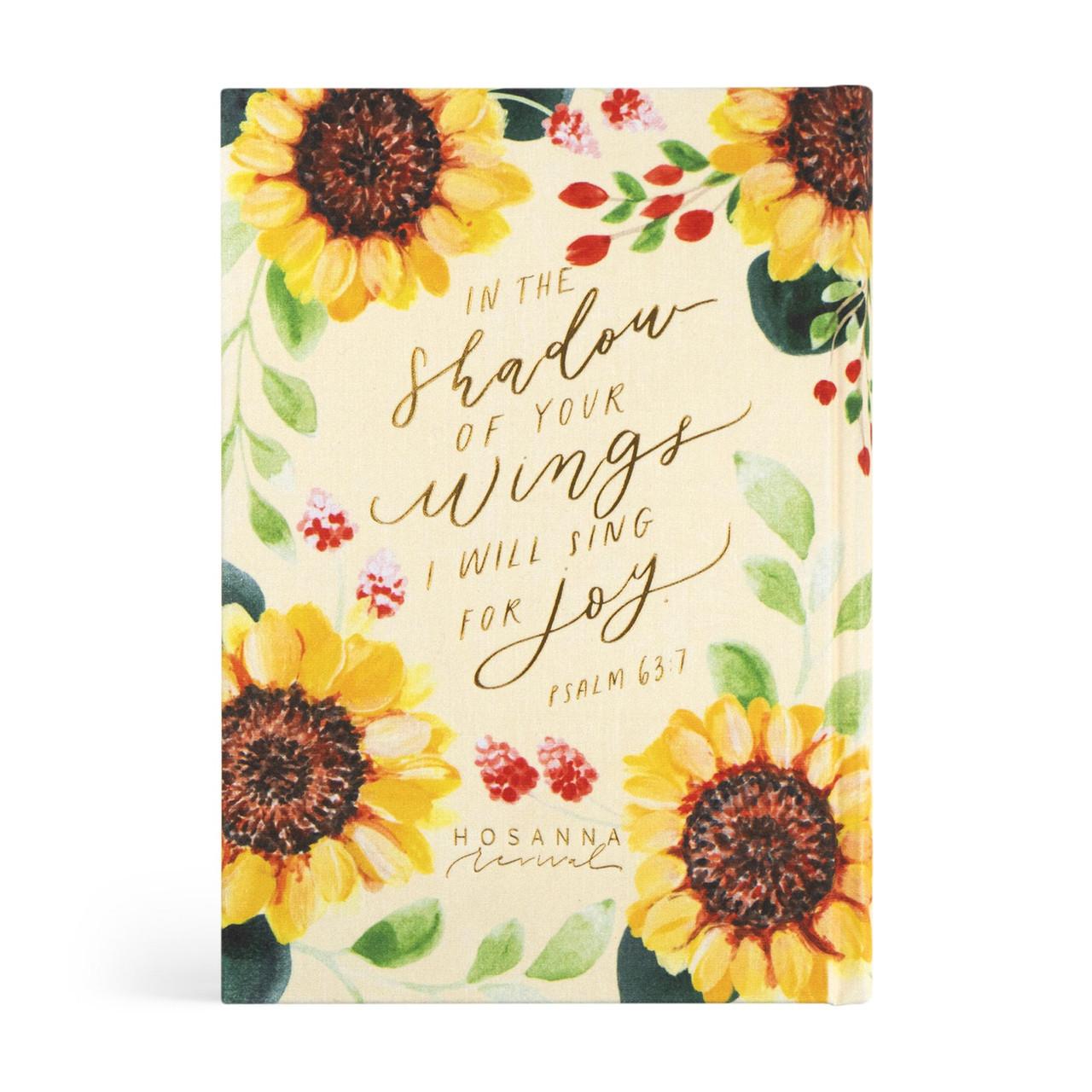 Hosanna Revival Bible - Savannah Theme - ESV Large Print Journaling Bible