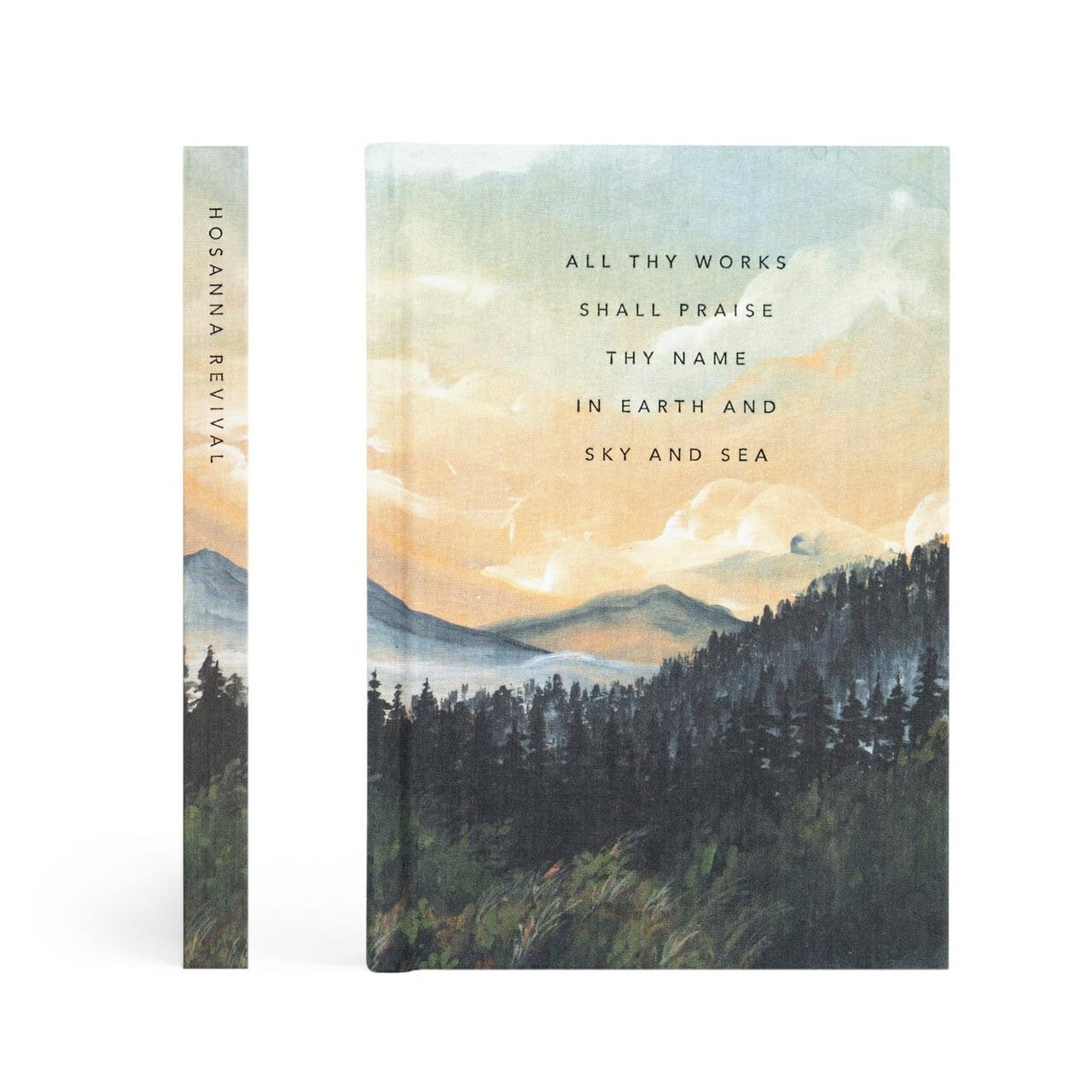 Hosanna Revival Journal: Bend Theme- Dotted - Bible Journaling Supplies