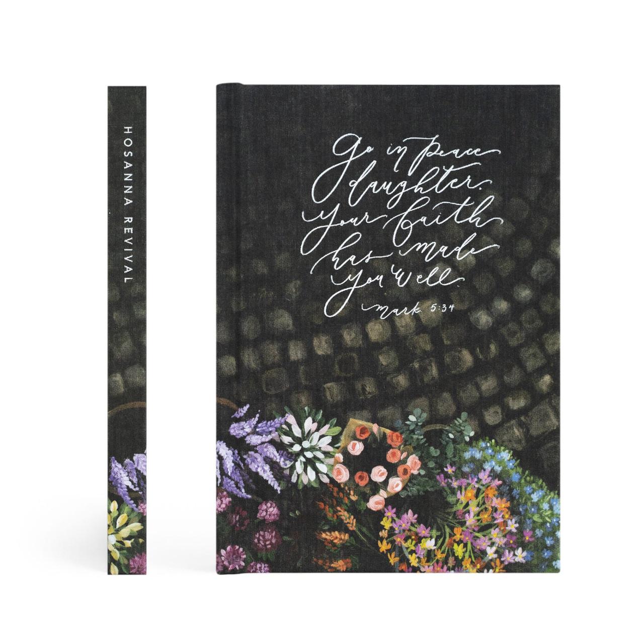 Hosanna Revival Journal: Bruges Theme- Dotted - Bible Journaling Supplies