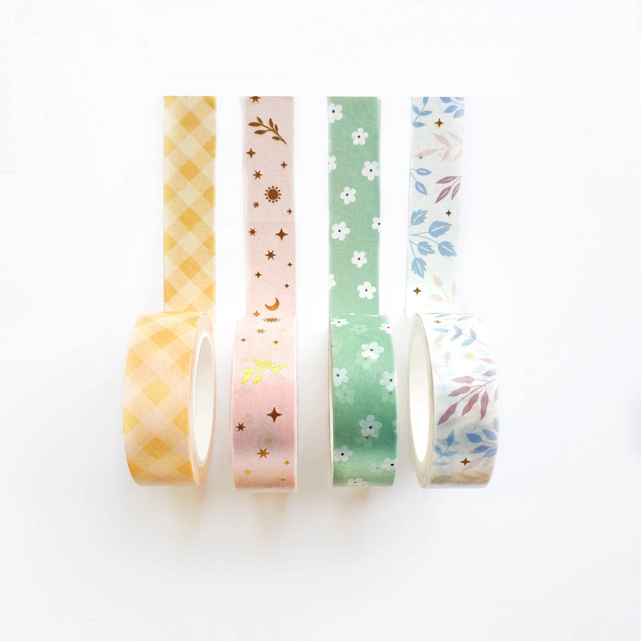 Joys of Spring Washi Tape Set - WT301 - 4 rolls