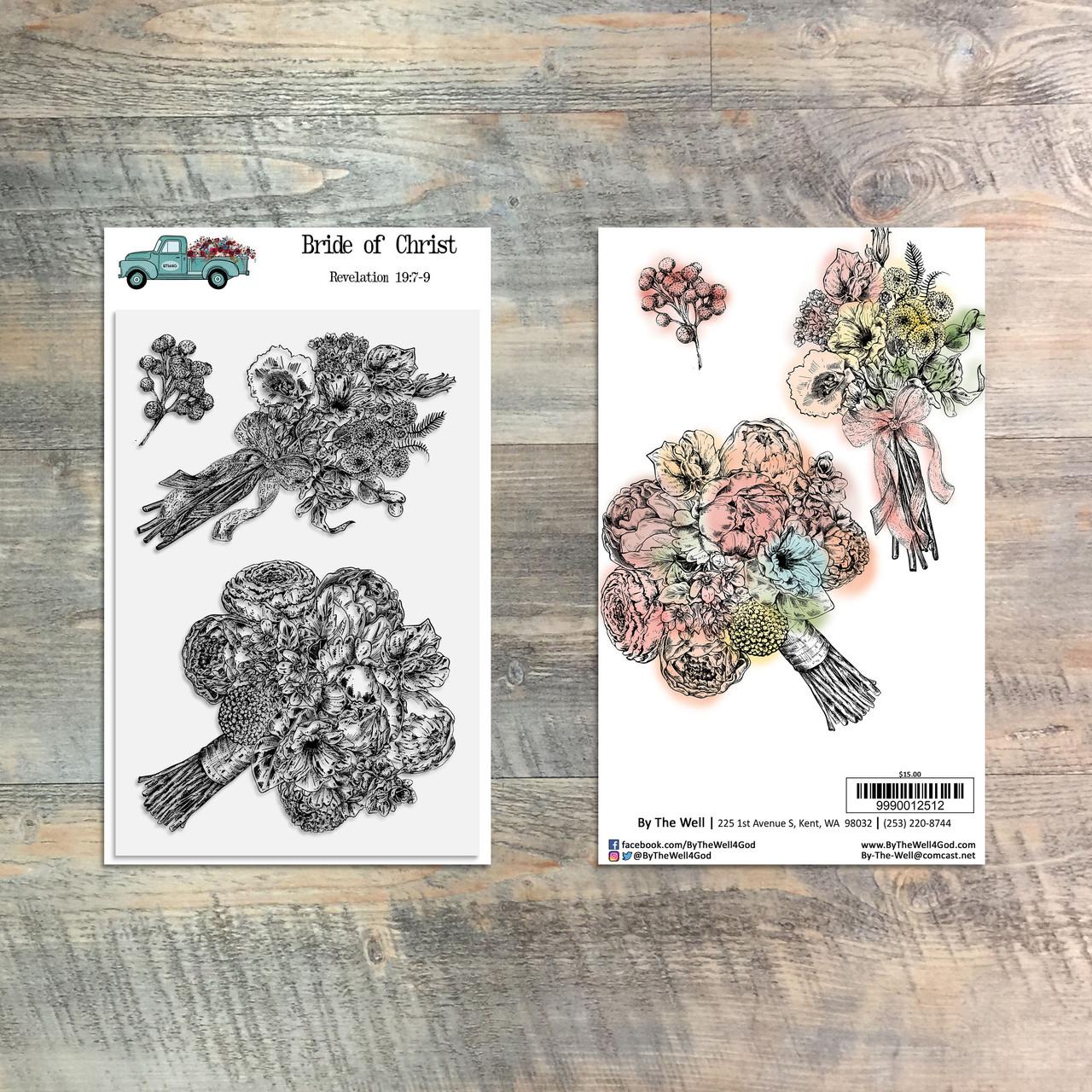 Bride of Christ - 3 Piece 4x6 Stamp Set