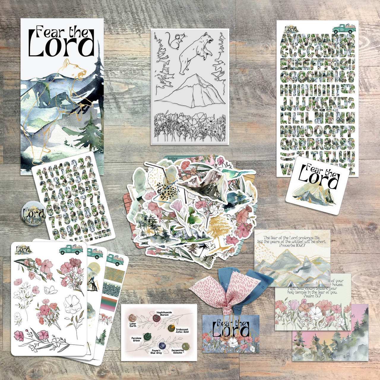 Fear the Lord - Devotional Kit for Bible Journaling