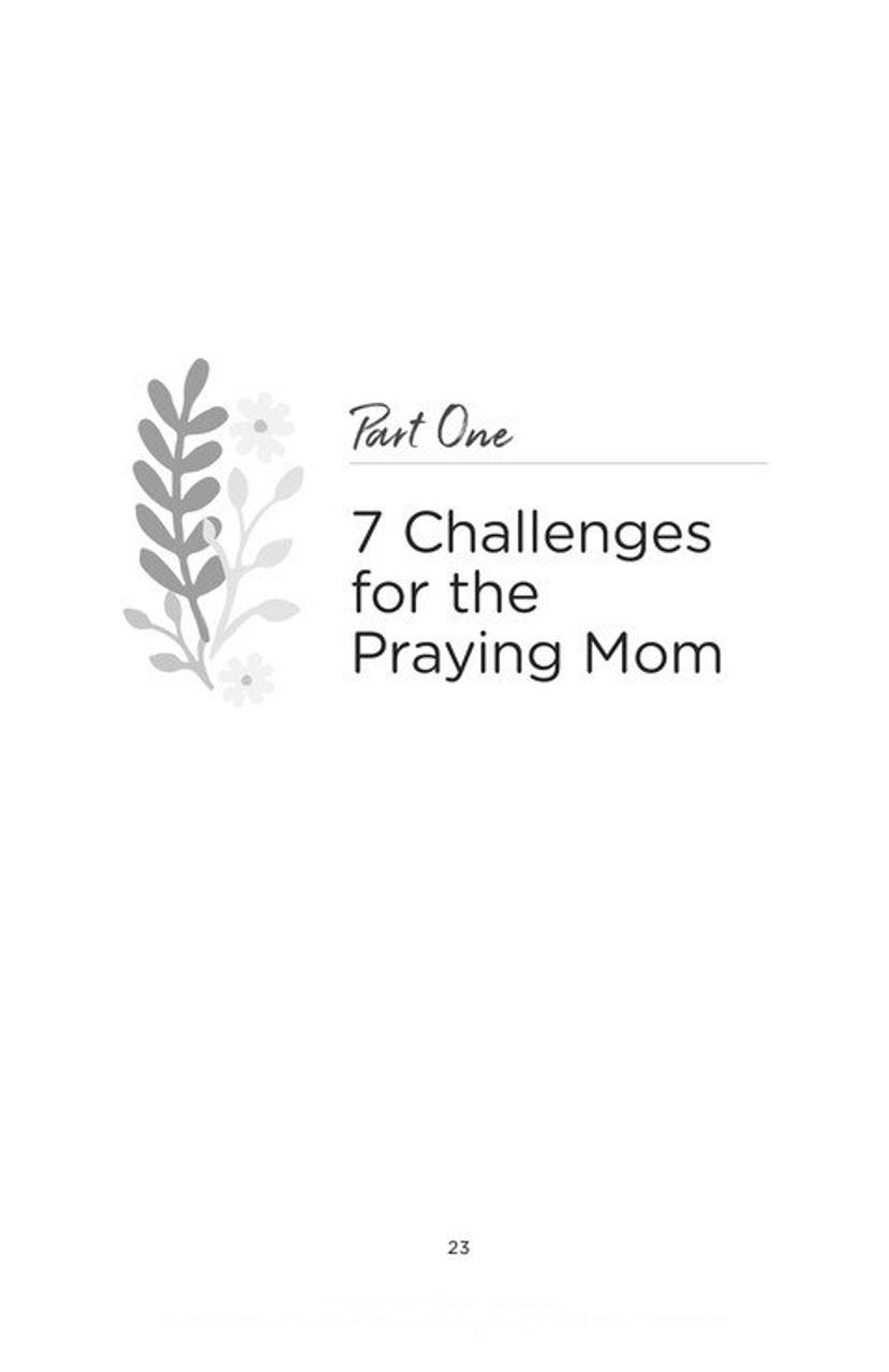 Praying Mom - Making Prayer the First and Best Response to Motherhood
