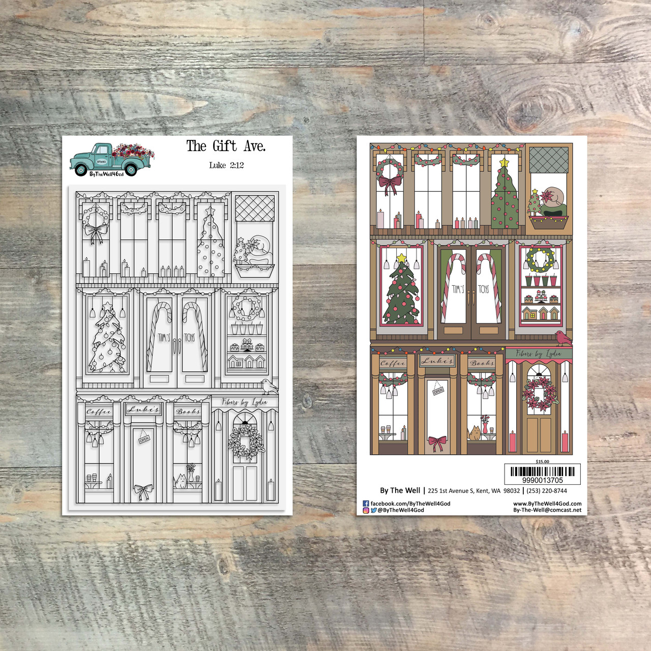 The Gift Ave - 4x6 Stamp Set